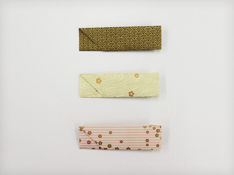 千代紙で作った箸袋