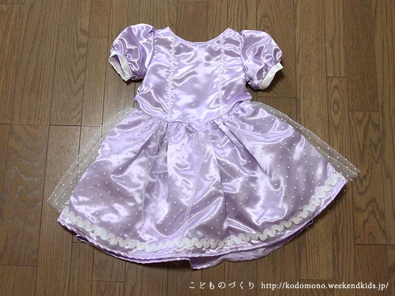 ソフィアのドレス風ワンピース 全身